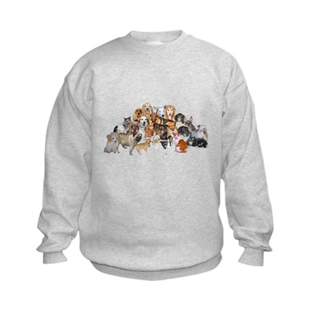 Other Dogs and Cats Kids Sweatshirt