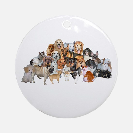 Other Dogs and Cats Ornament (Round)