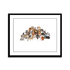 Other Dogs and Cats Framed Panel Print