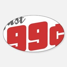 99 Cent Decal