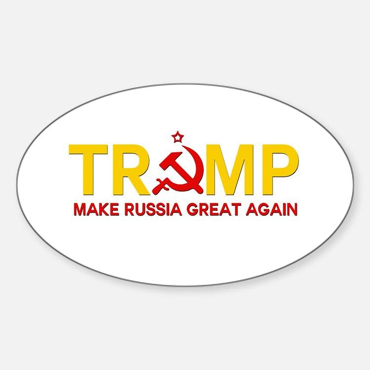 Trump Make Russia Great Again Decal
