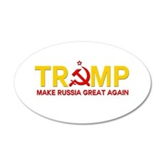 Trump Make Russia Great Again Wall Decal
