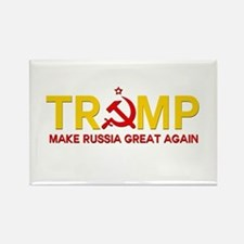 Trump Make Russia Great Again Magnets