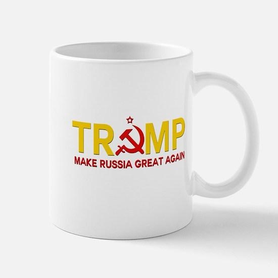 Trump Make Russia Great Again Mugs