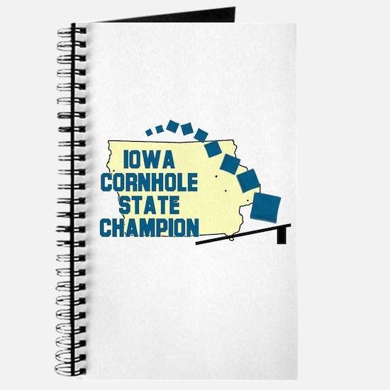 Iowa Cornhole State Champion Journal