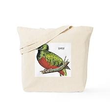 Quetzal Rain Forest Bird Tote Bag