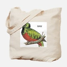 Quetzal Rain Forest Bird Tote Bag