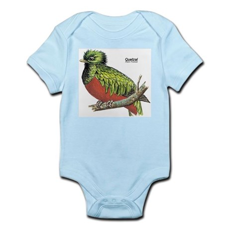 Quetzal Rain Forest Bird Infant Creeper