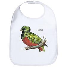 Quetzal Rain Forest Bird Bib