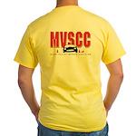 MVSCC Logo Yellow T-Shirt