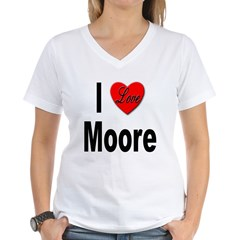 I Love Moore Shirt