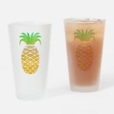 Colorful Pineapple Drinking Glass