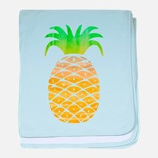 Colorful Pineapple baby blanket