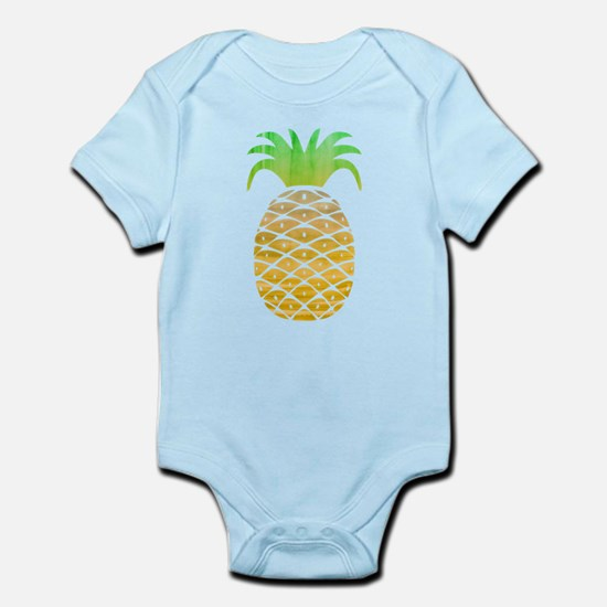 Colorful Pineapple Body Suit