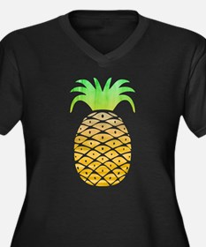 Colorful Pineapple Plus Size T-Shirt