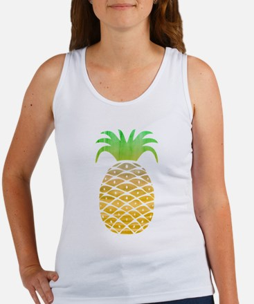 Colorful Pineapple Tank Top