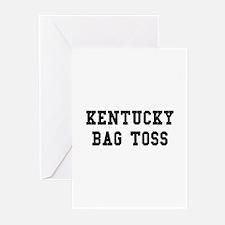 Kentucky Bag Toss Greeting Cards (Pk of 10)