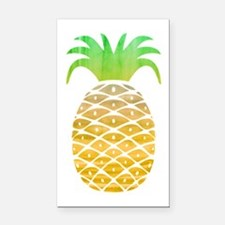 Colorful Pineapple Rectangle Car Magnet