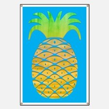 Colorful Pineapple Banner