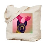 Maggie the Reindog Tote Bag