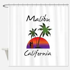 Malibu California Shower Curtain