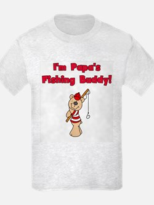 Bear Papa's Fishing Buddy T-Shirt