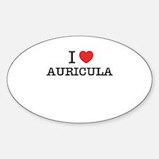 I Love AURICULA Decal