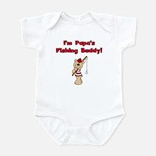 Bear Papa's Fishing Buddy Infant Bodysuit
