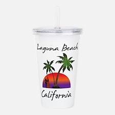 Laguna Beach Californi Acrylic Double-wall Tumbler
