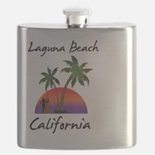 Laguna Beach California Flask