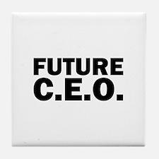 Future C.E.O. Tile Coaster