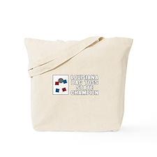 Louisiana Bag Toss State Cham Tote Bag