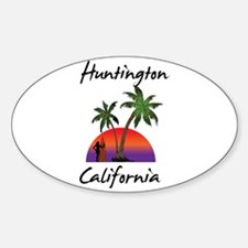 Huntington California Decal