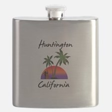 Huntington California Flask