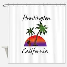 Huntington California Shower Curtain