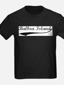 Balboa Island - Vintage Ash Grey T-Shirt