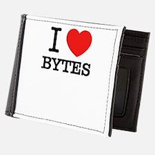 I Love BYTES Mens Wallet