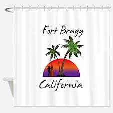 Fort Bragg California Shower Curtain