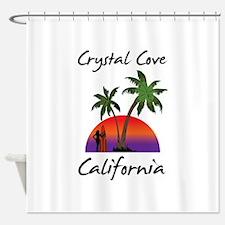 Crystal Cove California Shower Curtain