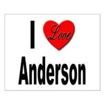 I Love Anderson Small Poster