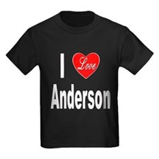 I Love Anderson (Front) T
