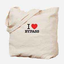 I Love BYPASS Tote Bag