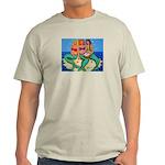 Mermaids Merbabes Beach Light T-Shirt