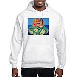 Mermaids Merbabes Beach Hooded Sweatshirt
