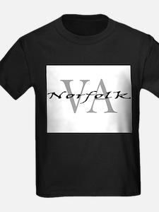 Norfolk-thru-VAblack.png T-Shirt