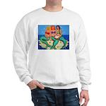 Mermaids Merbabes Beach Sweatshirt