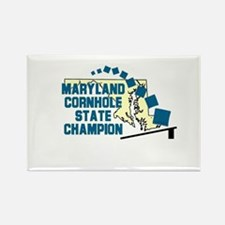 Maryland Cornhole State Champ Rectangle Magnet