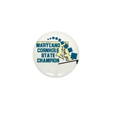 Maryland Cornhole State Champ Mini Button (10 pack