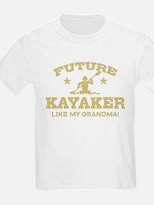 Future Kayaker Like My Grandma T-Shirt