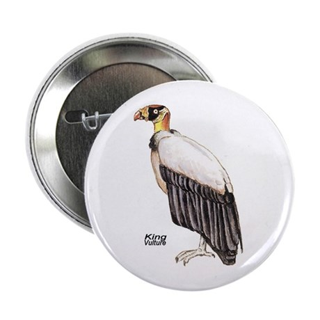 King Vulture Bird Button
